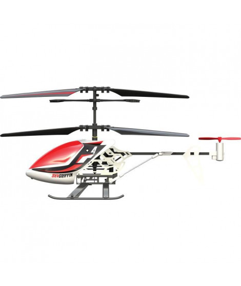SILVERLIT - Sky Griffin - Hélicoptere Télécommandé - Rouge - 18 cm