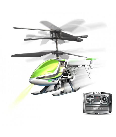 SILVERLIT - Sky Griffin - Hélicoptere Télécommandé - Vert - 18 cm