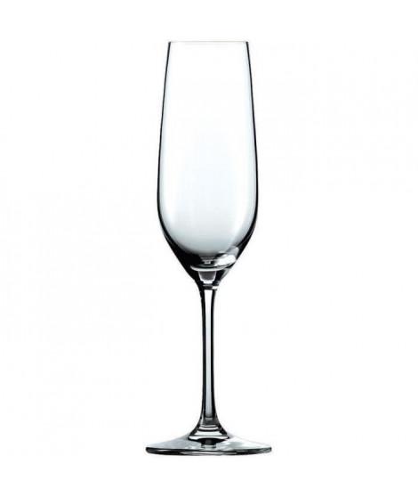 SCHOTT ZWIESEL Boîte de 6 flûtes a champagne Pure - 22,7 cl