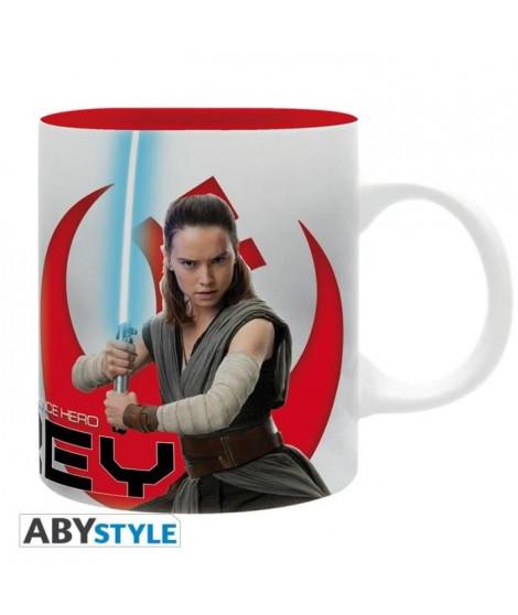 "Mug Star Wars - 320 ml - ""Rey E8"" - subli - avec boîte - ABYstyle"
