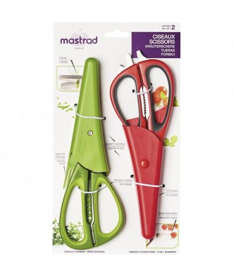 MASTRAD F24152 Lot de 2 ciseaux