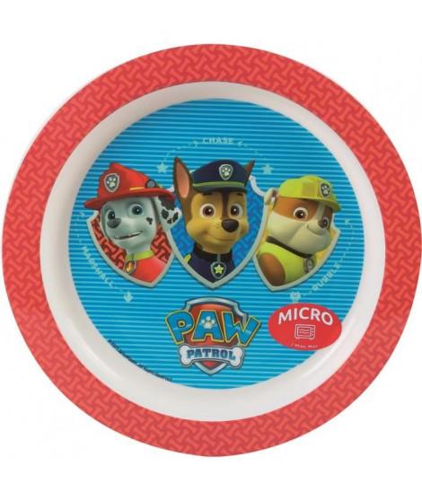 Fun House Pat Patrouille assiette micro-ondable pour enfant