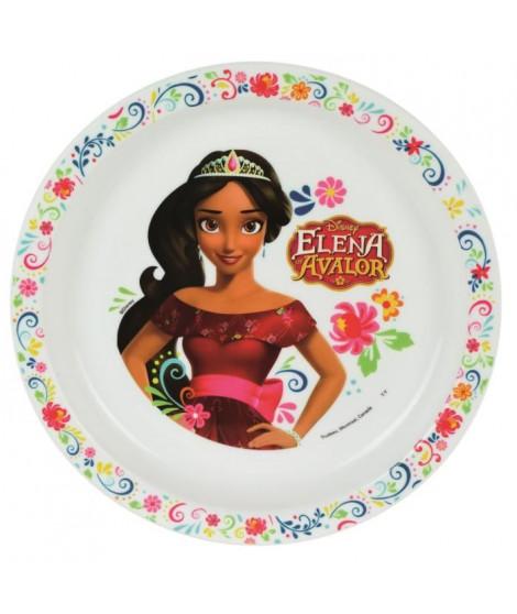 Fun House Disney elena d'avalor assiette micro-ondable pour enfant