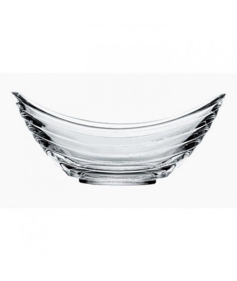 RECEPTION 1611535 Lot de 6 coupes a glace en verre Venezia - 18cl