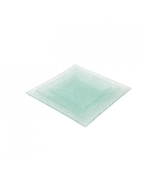 ABS - T190452-DX - Service de table - 18PCS - Verre Diamond