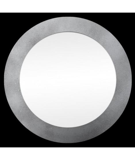 Miroir d'intérieur rond - Mdf - Ø35 cm - Argent métalisé