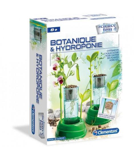 CLEMENTONI Science & Jeu -Botanique et Hydroponie - Jeu scientifique