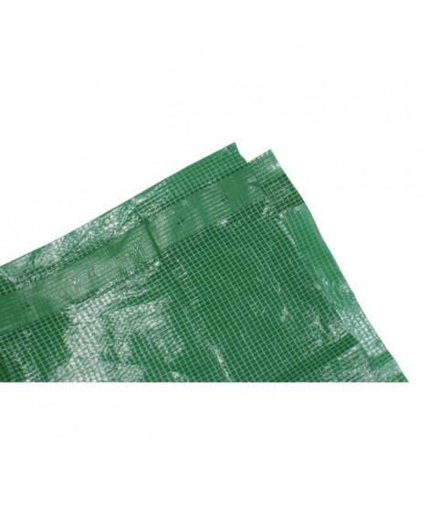 TECHIT Bâche armée verte lourde 180g/m² - 2 x 3m