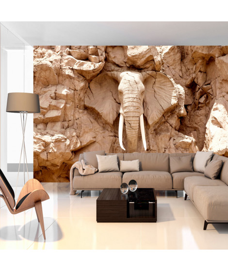 Papier peint - Stone Elephant (South Africa)
