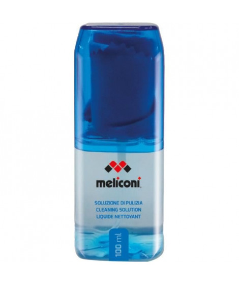 MELICONI BLUE100 Liquide nettoyant 100 mL + Chiffon en microfibre