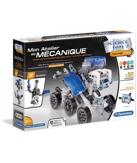 CLEMENTONI Mon Atelier de Mécanique - Robot lunaire & Station spatiale