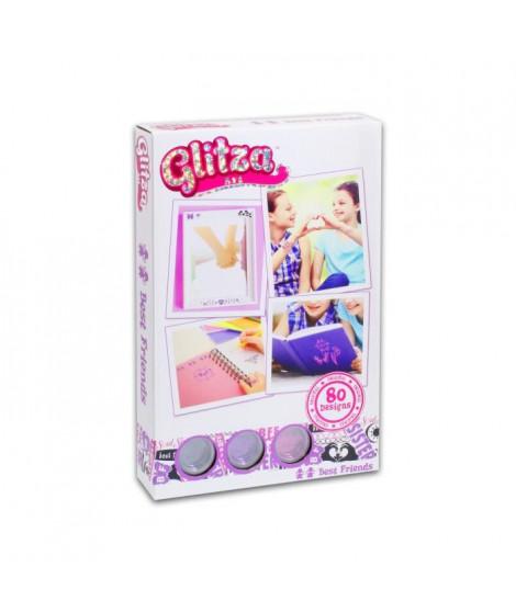 GLITZA ART Tatouage Meilleurs Amis - 80 Designs