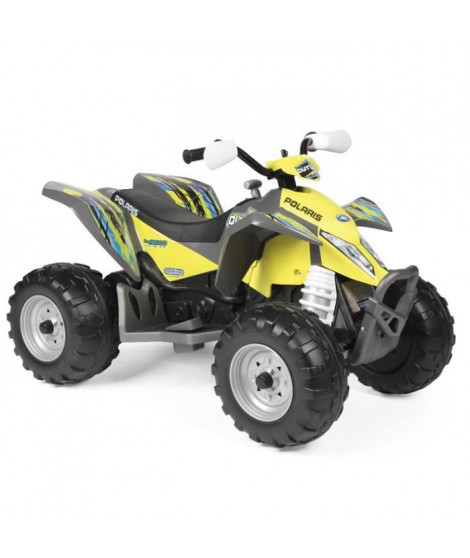 PEG PEREGO Quad Electrique Polaris Outlaw Citrus