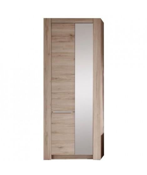 Cougar Dressing contemporain mélaminé décor chene naturel - L 76 cm