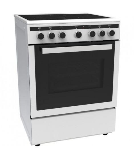 CONTINENTAL EDISON CECICM604ZW-Cuisiniere table induction-4 zones-Four électrique multifonction-Catalyse-65 L-A-L 60 x H 85 c…
