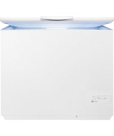 ELECTROLUX  - EC3202AOW1 - Congélateur coffre - 300L - Froid statique - A+ - L106,1cm x H86,8cm - Blanc