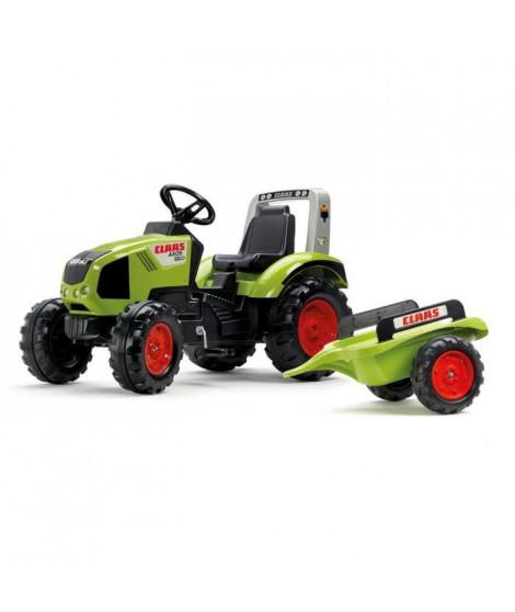 CLAAS Tracteur a pédales Claas Axos 330 + Remorque