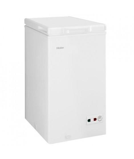 HAIER BD-103RAA - Congélateur coffre - 103L - Froid statique - A+ - L 57cm x H 84,5cm - Blanc