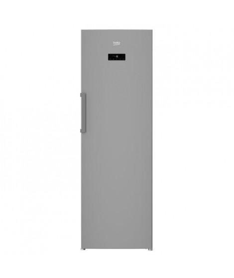 BEKO RFNE312E23X - Congélateur armoire - Ventilé - 277 L - A+ - Inox anti-traces
