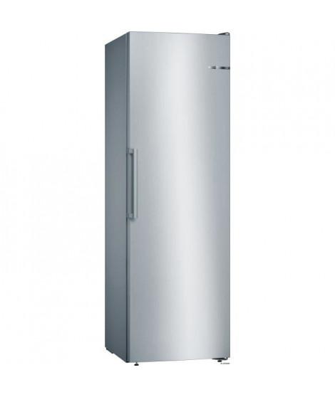 BOSCH GSN36VL3P - Congélateur armoire - 242 L - Froid no frost multiairflow - A++ - L 60 x H 186 cm - Inox