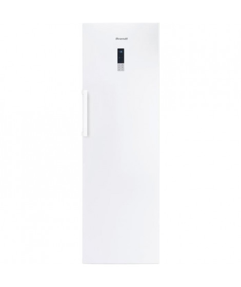 BRANDT BFU584YNW - Congélateur 255L - No Frost - A++ - L 59,5 x H 185,5 cm - Blanc