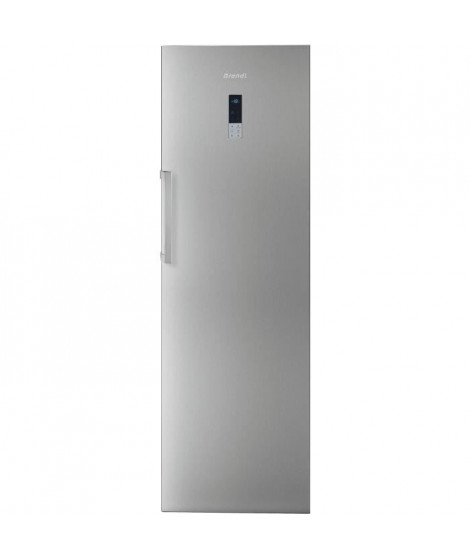 BRANDT BFU584YNX Congélateur 255L - No Frost - A++ - L 59,5 x H 185,5 cm - Inox