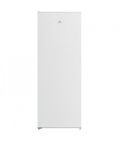 CONTINENTAL EDISON Congélateur armoire 168L - No frost - thermostat électronique - A+ - L 54,2 x H 145,7 cm - Blanc