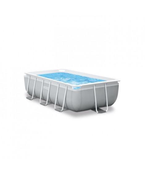 INTEX Kit piscine rectangulaire Prism Frame - 300 x 175 x 80 cm