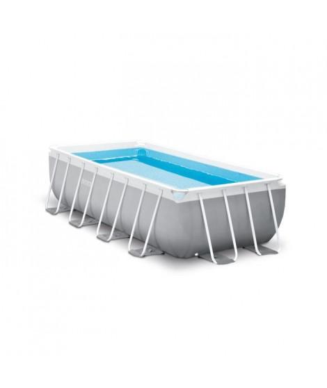 INTEX Kit piscine rectangulaire Prism Frame - 400 x 200 x 100 cm