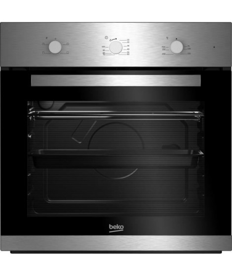 BEKO - BIC22100X - Four Email Lisse - Convection -71L  - A - Inox