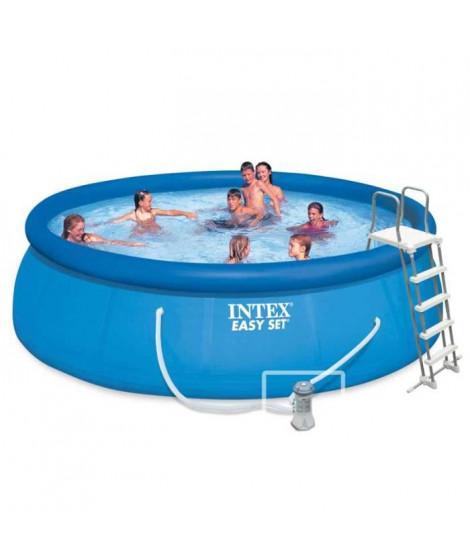 INTEX Kit piscine autoportée Easy Set - 457 x 122 cm