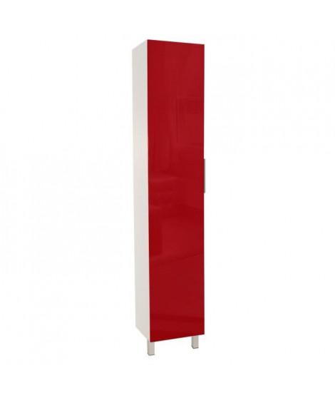 POP Colonne de cuisine L 40 cm - Rouge brillant