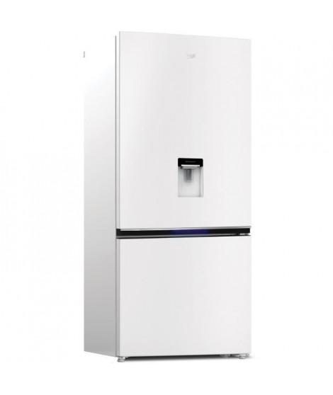 BEKO - REC72DW - Réfrigérateur combiné - 590L (430+160) - Froid Ventilé Neo Frost - A+ - L83,20 x H191,5cm - Blanc