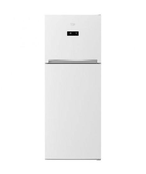 BEKO - RDNT470E20ZW - Réfrigérateur double porte - 422L (316L + 106L) - Froid Ventilé - A+ - L70cm x H182cm - Blanc