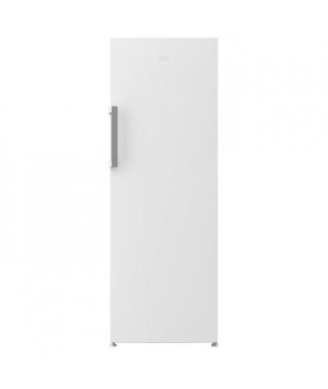 BEKO RES44NW - Réfrigérateur 1 porte - 375L - Froid ventilé - A+ - L 59,5cm x H 185cm - Blanc