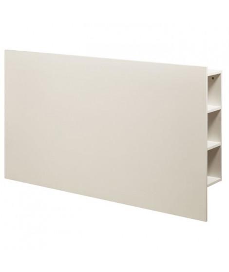 DESCARTE Tete de lit classique - Blanc - L 160 cm