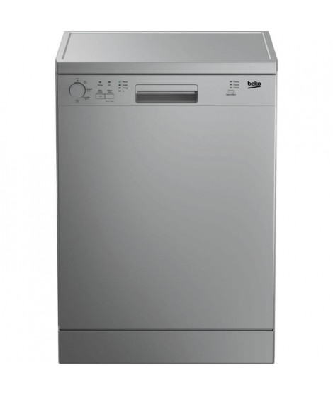 BEKO LVP63S2 - Lave-vaisselle pose libre - L 60 cm - 13 couverts - A+ - 47 dB -11,5 L - Silver