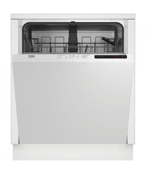 BEKO - LVI72F -Lave-vaisselle encastrable - 13 couverts - 46dB - A++ - Larg.60cm