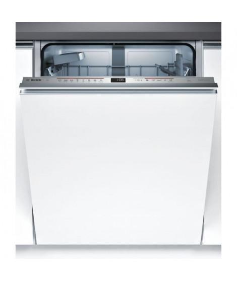 BOSCH SMV68IX00E - Lave vaisselle tout encastrable - 13 couverts - Silencieux 44 dB - A+++ - Moteur induction