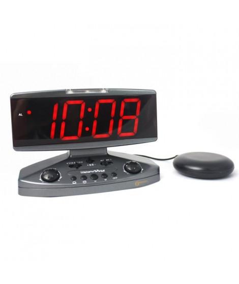 Réveil malentendant vibreur GEEMARC Wake'n'Shake Jumbo - Grand afficheur