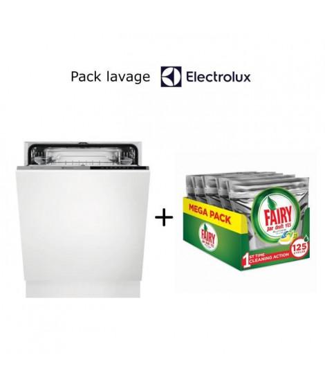 Pack lavage Electrolux: lave vaisselle ESL5326LO +  Pack de 125 tablettes