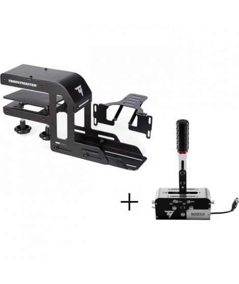 THRUSMASTER TM Racing Clamp + Frein a main / Boîte de vitesse TSS Handbrake
