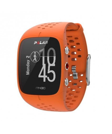 POLAR M430 Montre Sport Gps Cardio - Taille M/L - Orange