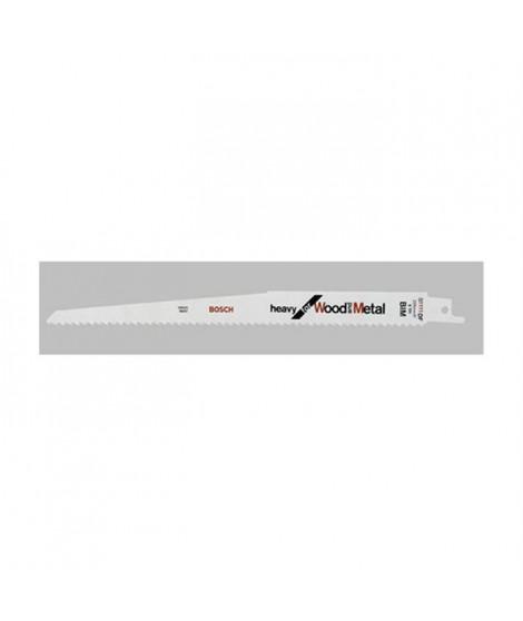 BOSCH Lame de scie-sabre S 1111 DF - idéale pour le bois tendre et métal - 2 pieces