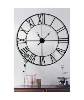 Grande horloge en métal Gaia Ø 90 cm - Piles incluses