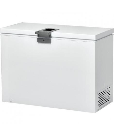 CANDY - CMCH 302 EL - Congélateur coffre - 291L - Froid statique - A+ - L105,5cm x H83,5cm - Blanc