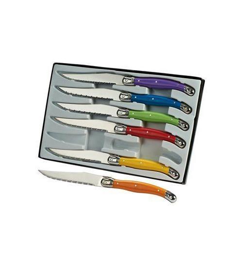 LAGUIOLE L101 Set de 6 couteaux Laguiole - Inox