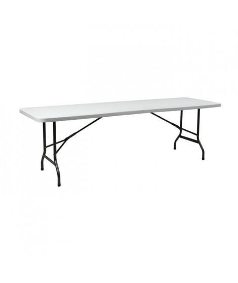 INNOV'AXE Table Pliante Camping - Rectangulaire - 240 Cm
