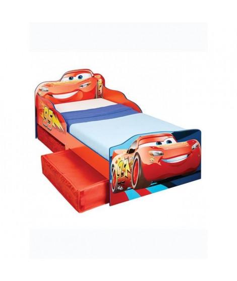Disney Cars - Lit pour enfants avec espace de rangement sous le lit