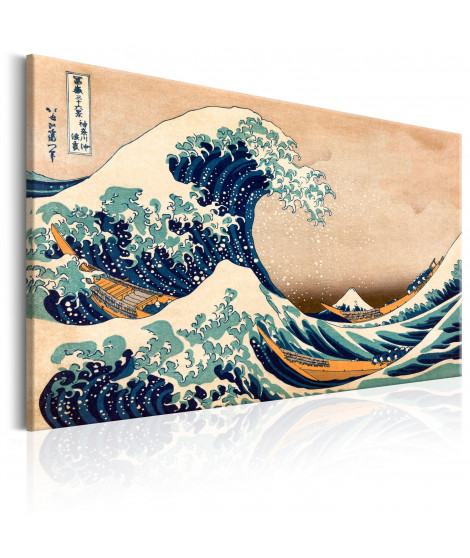 Tableau - The Great Wave off Kanagawa (Reproduction)